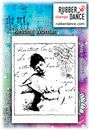 Rubber Dance Unmounted Stamp Set - Resting Woman